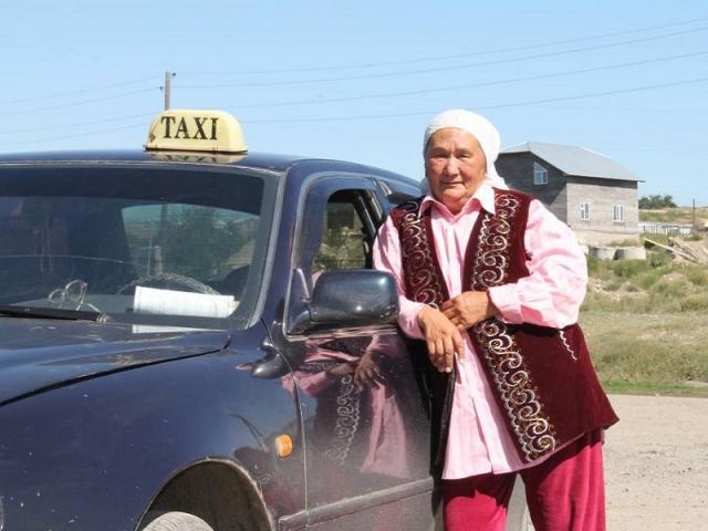 Апашка-таксист Фото: Ерболат Мукажанов