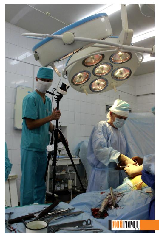 """""""Мой ГОРОД"""" побывал в операционном зале областной больницы 7"""
