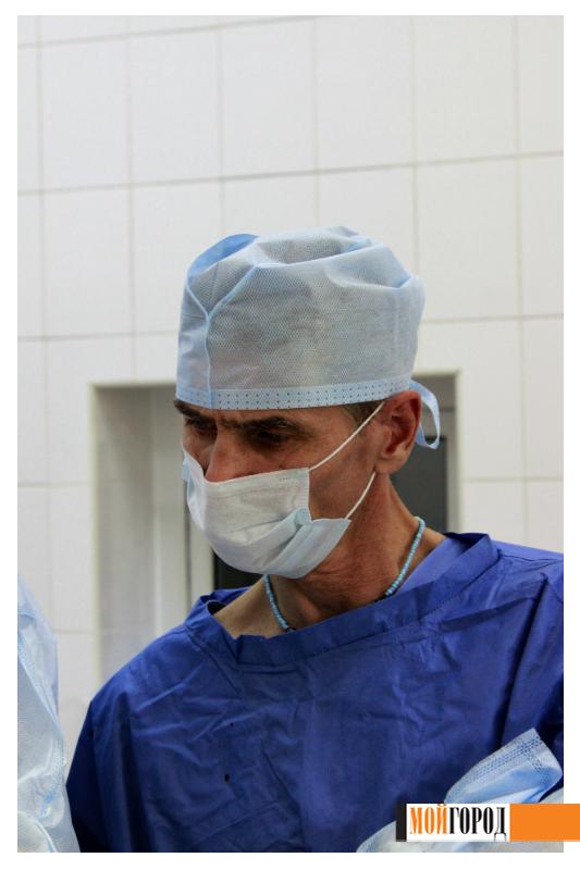 """""""Мой ГОРОД"""" побывал в операционном зале областной больницы 9"""