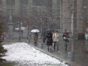В Уральске ожидаются снег с дождем Фото с сайта uralpress.uu.ru