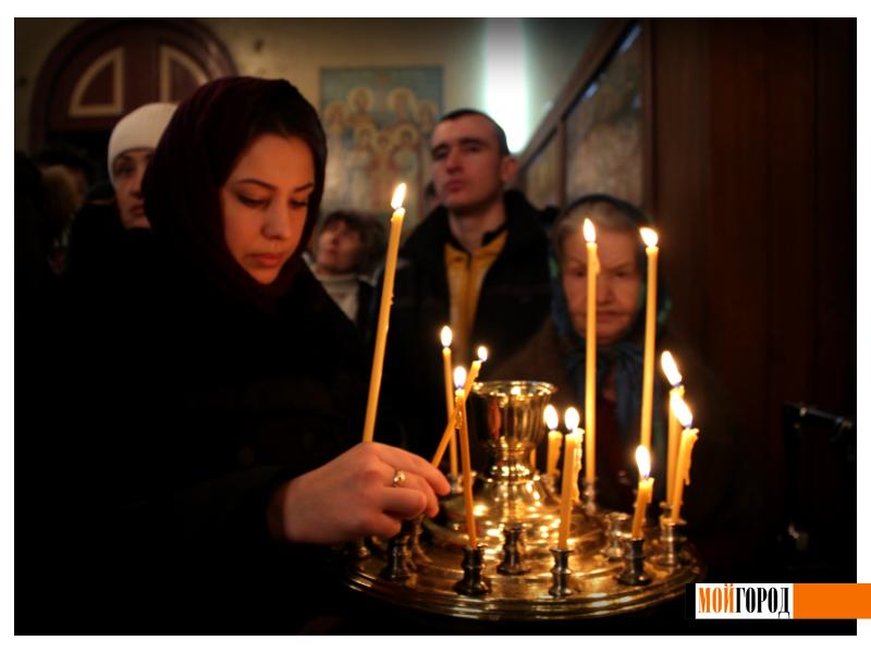 Православные Уральска встречают Рождество 1