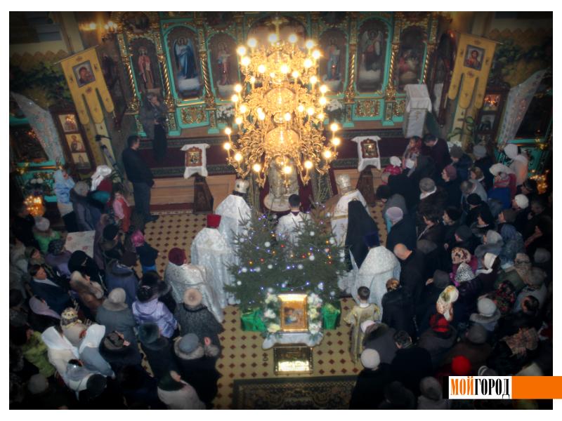 Православные Уральска встречают Рождество 14
