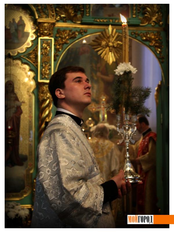 Православные Уральска встречают Рождество 2
