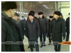 Новости Актобе - Актобе. Серик АХМЕТОВ посетил новый ферросплавный завод  ahmetov