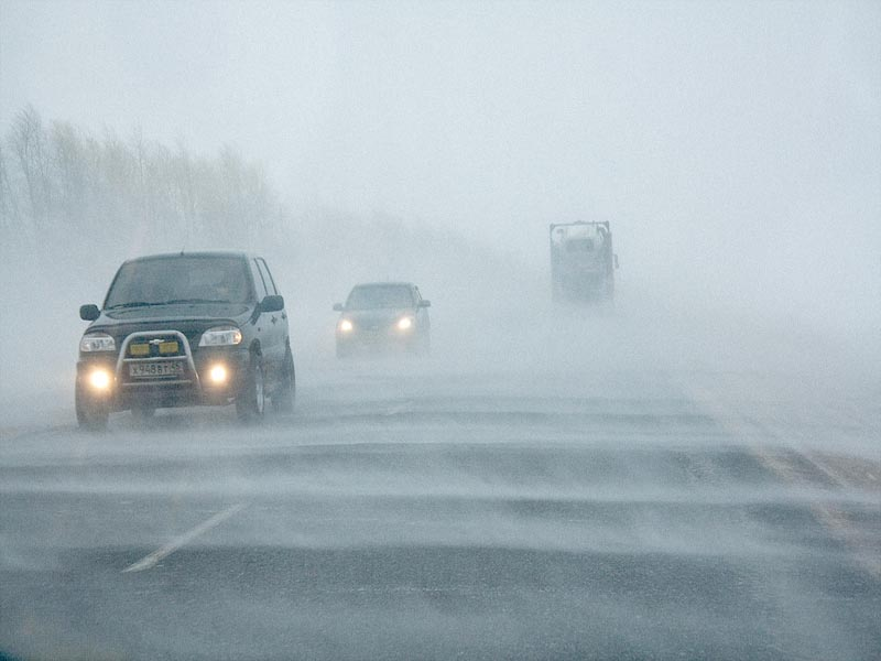 В ЗКО из-за метели закрыли автодорогу республиканского значения Актобе. Более 110 человек эвакуировали из снежного заноса