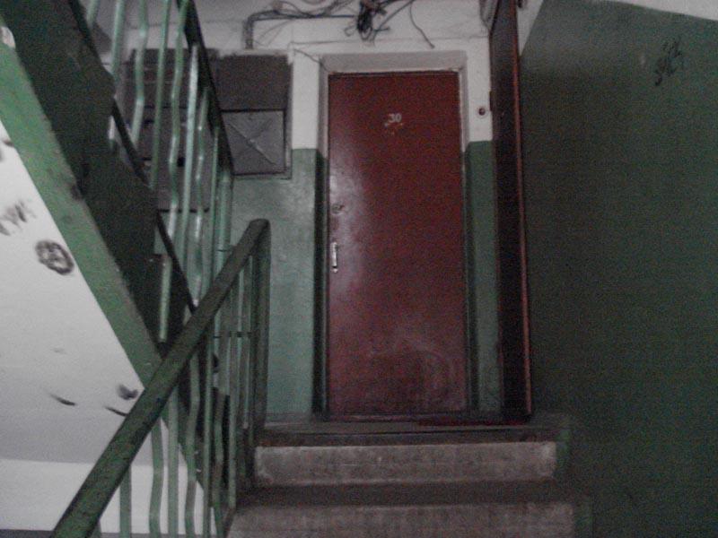 Дверь увидел стояла член