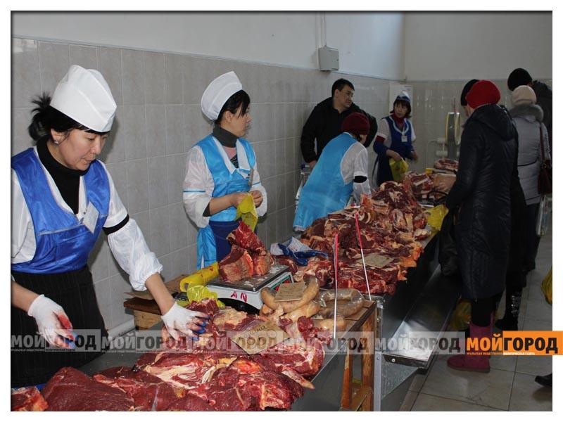В уральске на ярмарке продавали мясо