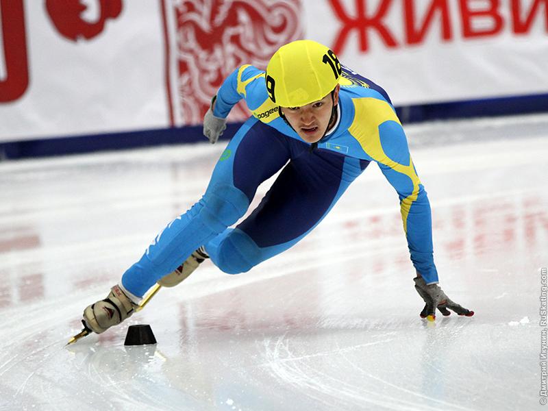 Новости - Абзал Ажгалиев завоевал бронзу на этапе Кубка мира по шорт-треку в Алматы