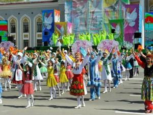 На первомайское шествие в Уральске выйдут 26 тысяч человек Иллюстративное фото с сайта eparhia.kz