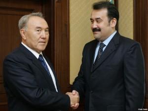Назарбаев Масимову: «На тебе пахать надо!» Фото с сайта rus.azattyq.org