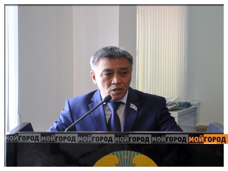 "Новым секретарем  гормаслихата стал зампредседателя ""Нур Отана""  sessiya9"