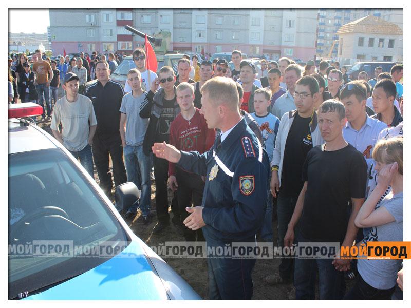 «Спасибо деду за победу!» - автопробег в Уральске(фото, видео) 9maya_probeg11
