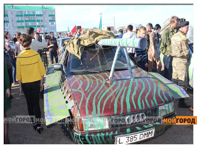 «Спасибо деду за победу!» - автопробег в Уральске(фото, видео) 9maya_probeg12