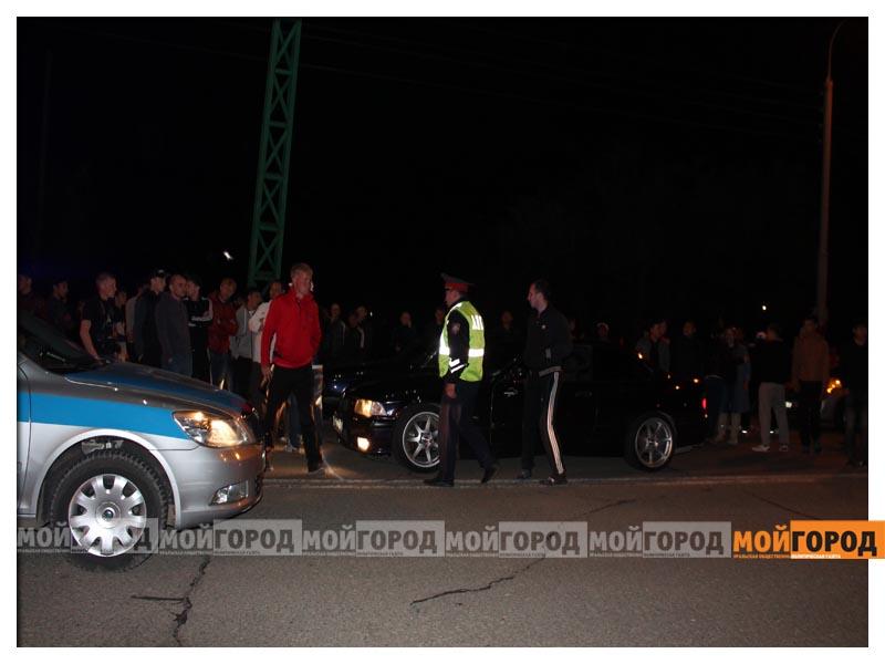 Новости Уральск - В Уральске на гонках полицейские переписывали госномера  avto5