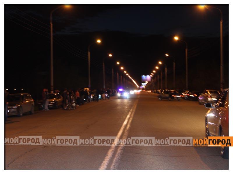В Уральске на гонках полицейские переписывали госномера  avto7