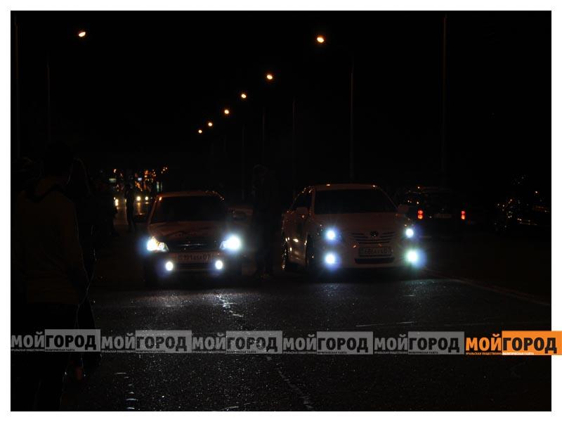 Новости Уральск - В Уральске на гонках полицейские переписывали госномера  avto8
