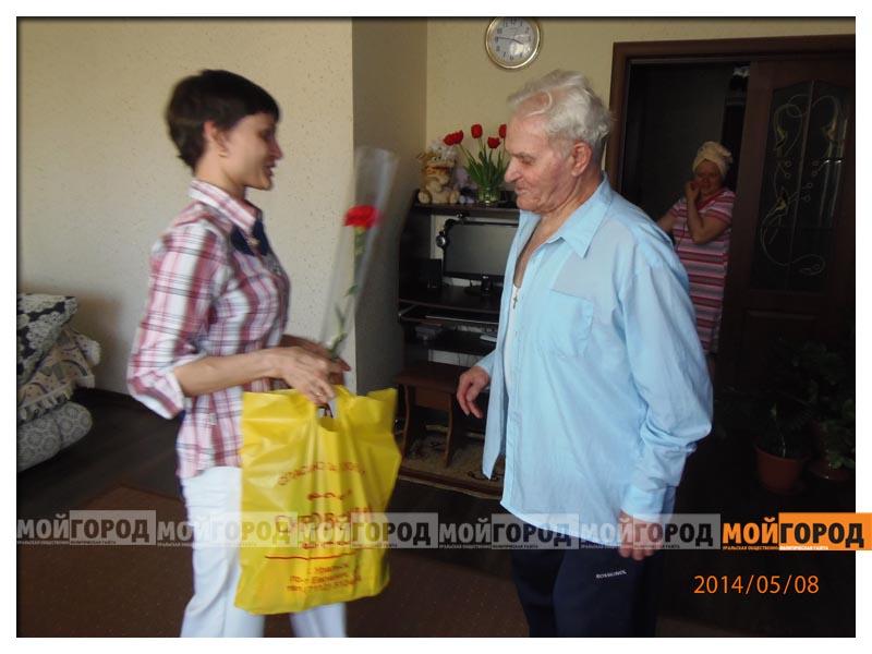 Новости Уральск - Супермаркет «Суровский» поздравил ветеранов с Днем Победы  OLYMPUS DIGITAL CAMERA