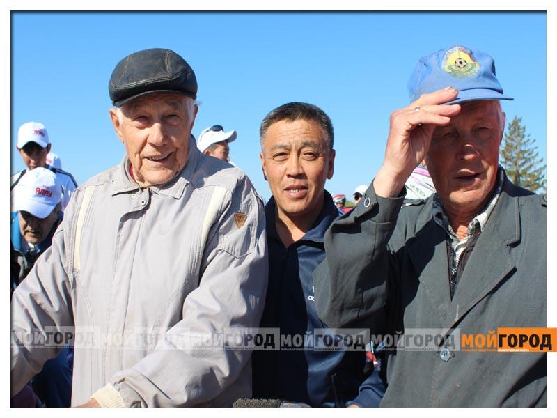 Нурлан НОГАЕВ подарил свой велик 83-летнему участнику пробега velo12