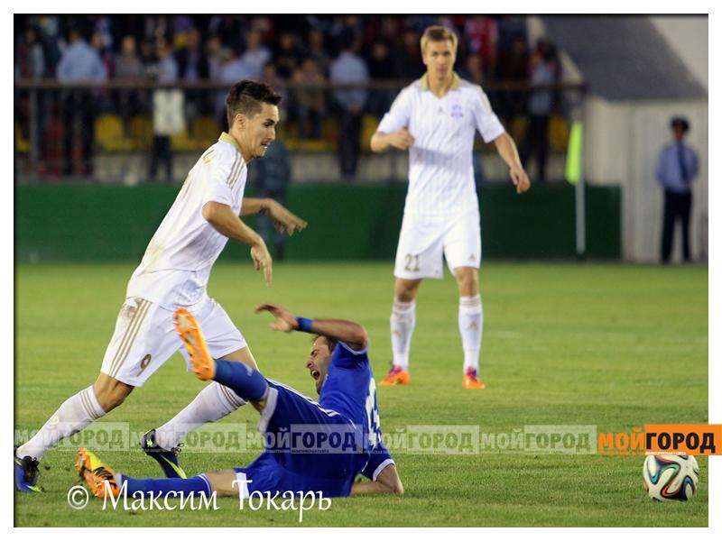 Новости Актобе - «Мой ГОРОД» коллективно поддержал «Актобе» в матче с «Динамо-Тбилиси» futbol_mg3