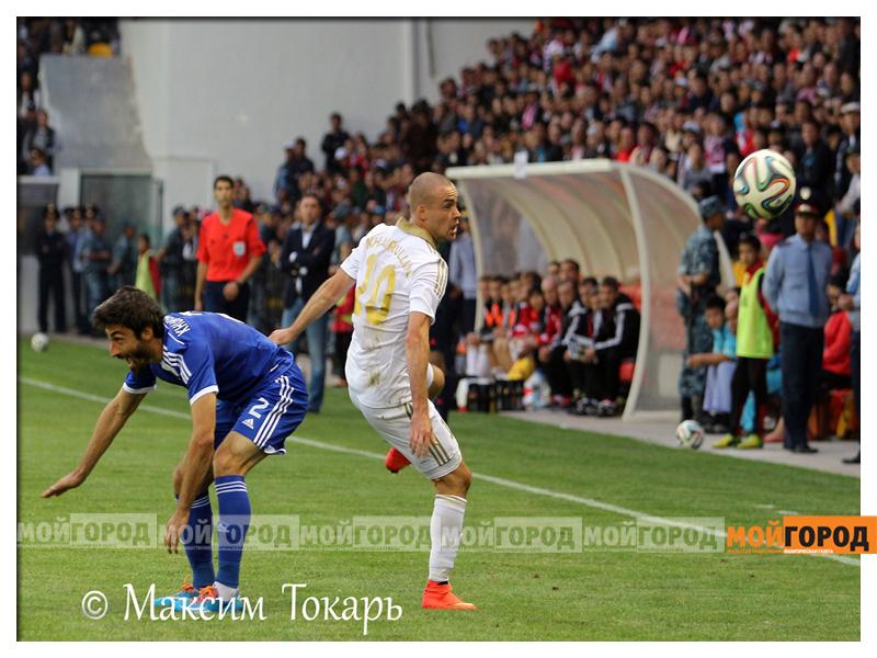 Новости Актобе - «Мой ГОРОД» коллективно поддержал «Актобе» в матче с «Динамо-Тбилиси» futbol_mg6