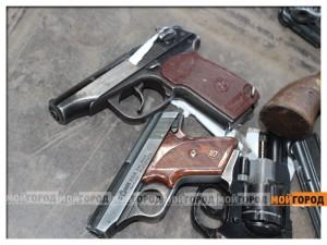 """80% владельцев травматики в ЗКО сдали свое оружие в полицию Фото из архива """"МГ"""""""