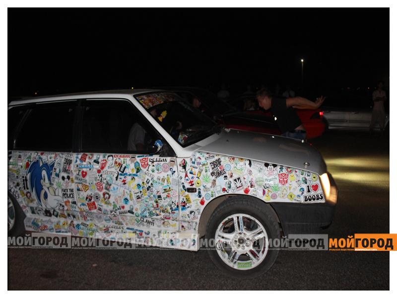 В Уральске около 30 машин участвовали в драг-рейсинге gonka6