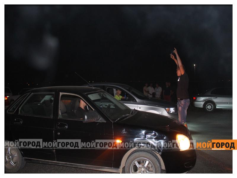 В Уральске около 30 машин участвовали в драг-рейсинге gonka8