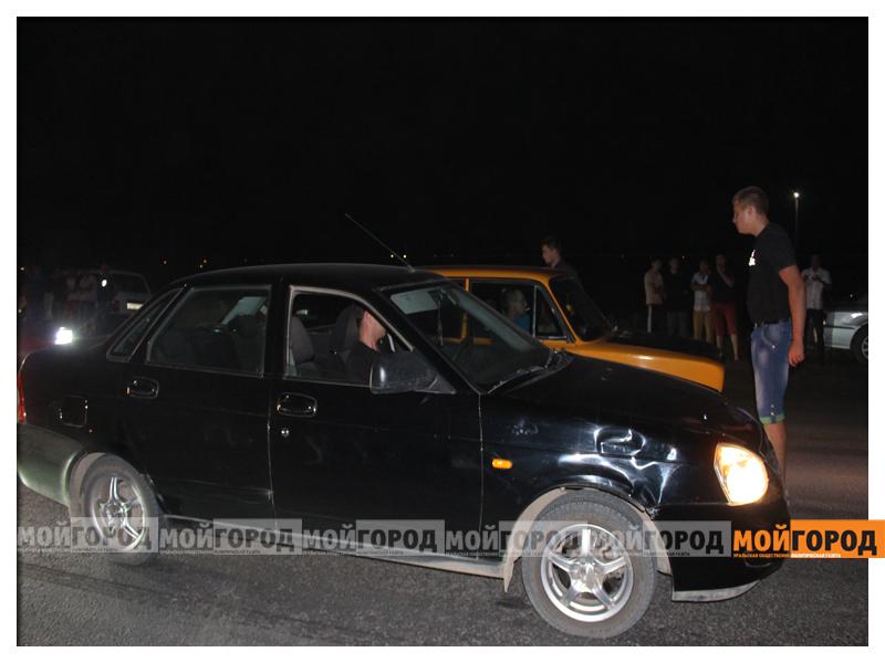 В Уральске около 30 машин участвовали в драг-рейсинге gonka9