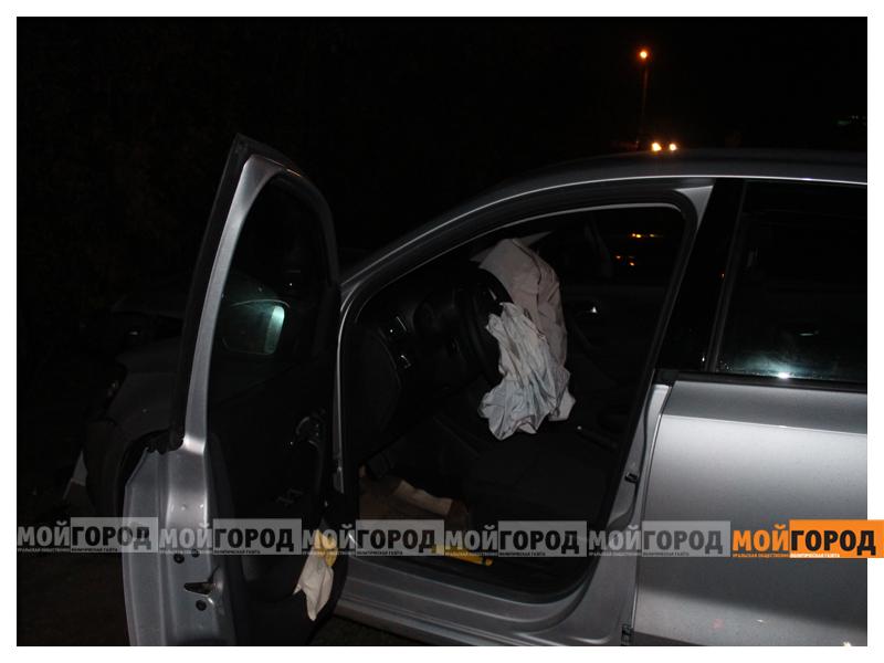 В Уральске в ДТП с участием трех машин пострадала девушка dtp6