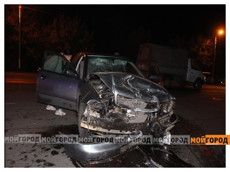 В Уральске в ДТП с участием трех машин пострадала девушка dtp7