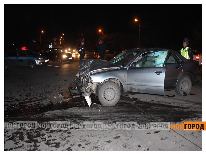 В Уральске в ДТП с участием трех машин пострадала девушка dtp9