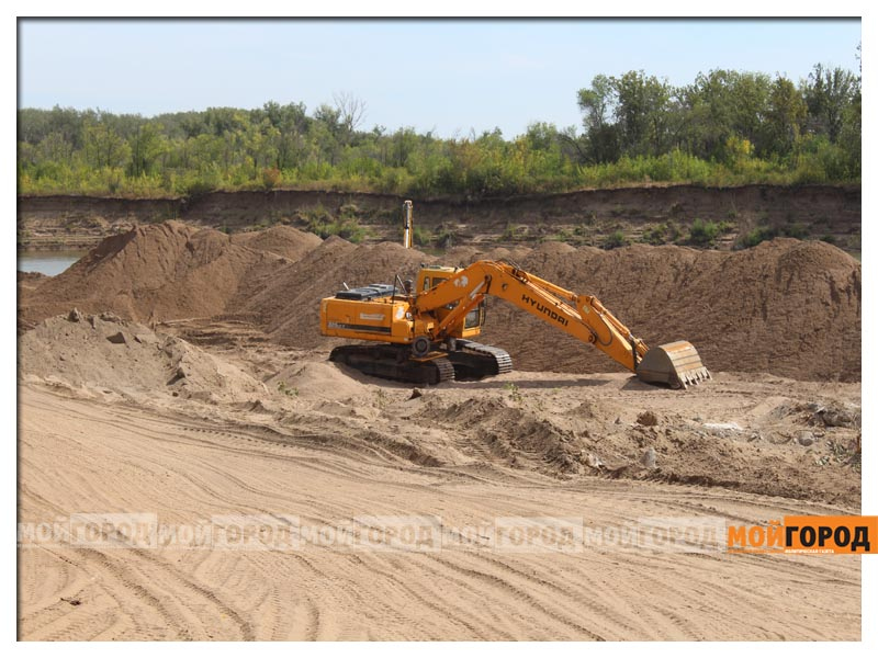 Новости Атырау - Песок незаконно перевозили в Атырауской области рабочие карагандинской стройкомпании