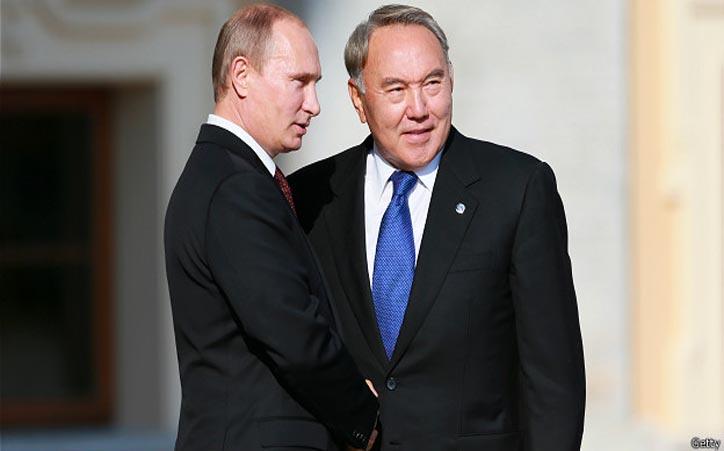 Новости - В Казахстане озадачены словами Путина о русском мире Фото с сайта www.bbc.com/