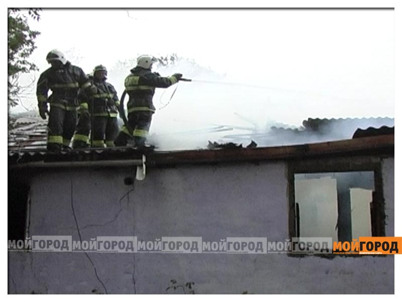 В Актобе дотла сгорело общежитие для семей военнослужащих aktobsh3