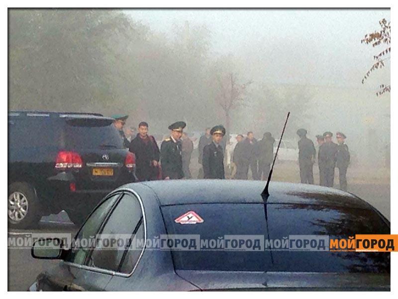 Новости Атырау - В Атырауском аэропорту эвакуировали пассажиров (фото, видео) atyrau1