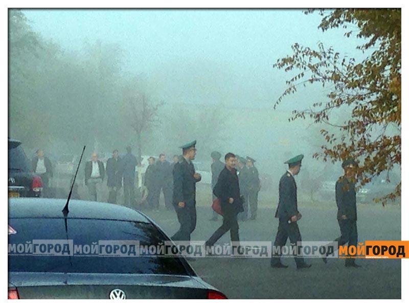 Новости Атырау - В Атырауском аэропорту эвакуировали пассажиров (фото, видео) atyrau2
