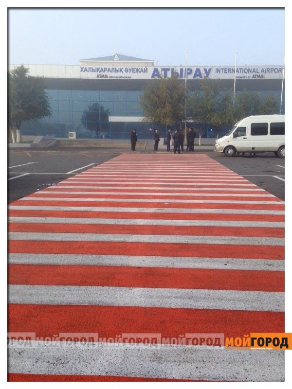 Новости Атырау - В Атырауском аэропорту эвакуировали пассажиров (фото, видео) atyrau5