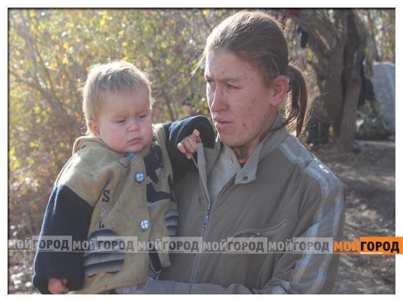 Новости Уральск - В Уральске семья с малолетними детьми живет в лесу (видео) detivlesu13
