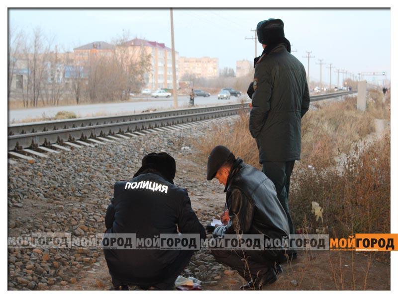 В Уральске возле рельсов найдено тело пожилой женщины poezd2