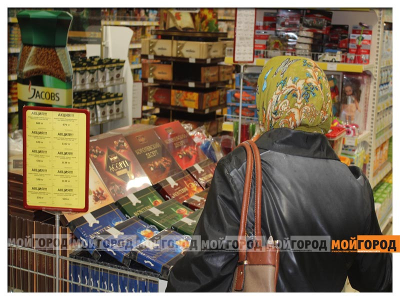 В супермаркете «Суровский» покупателей поздравили с праздником Курбан айт surovskii4
