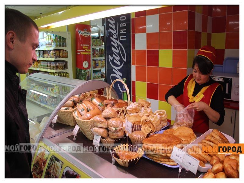 В супермаркете «Суровский» покупателей поздравили с праздником Курбан айт surovskii6