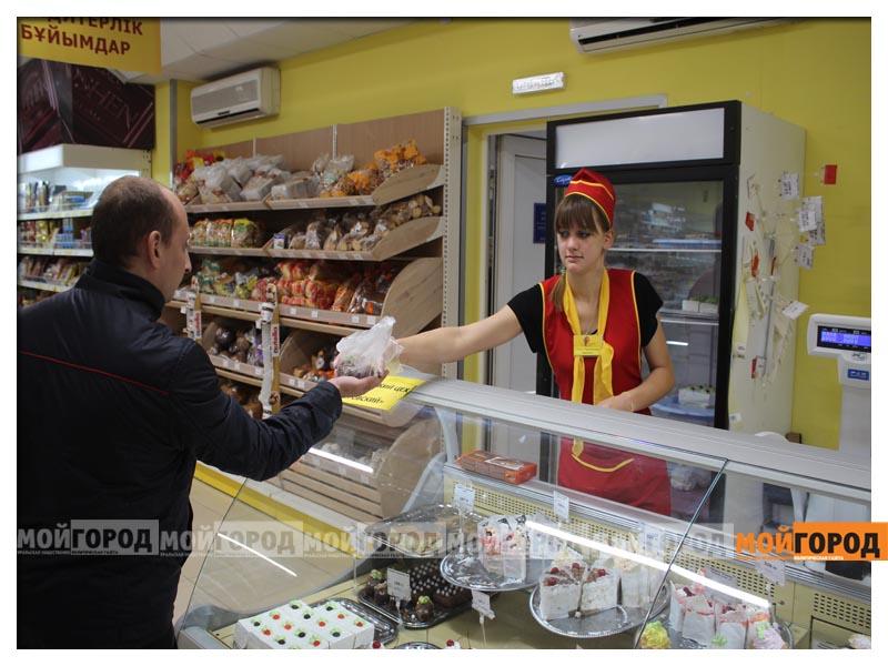 В супермаркете «Суровский» покупателей поздравили с праздником Курбан айт surovskii8