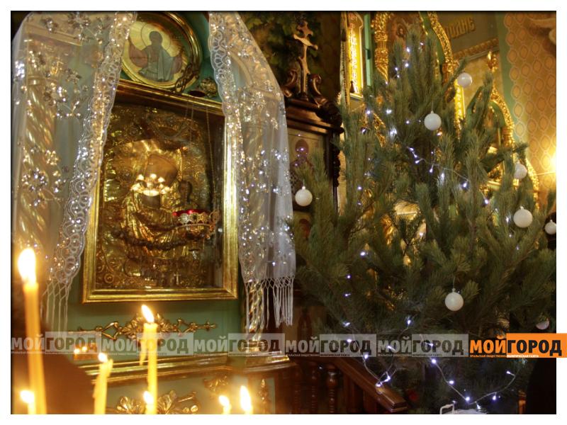 В Уральске православные христиане празднуют Рождество 04