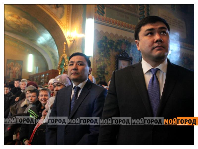 В Уральске православные христиане празднуют Рождество 09