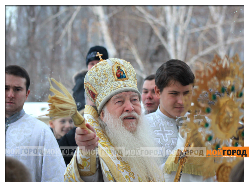 В Уральске православные христиане празднуют Рождество 12