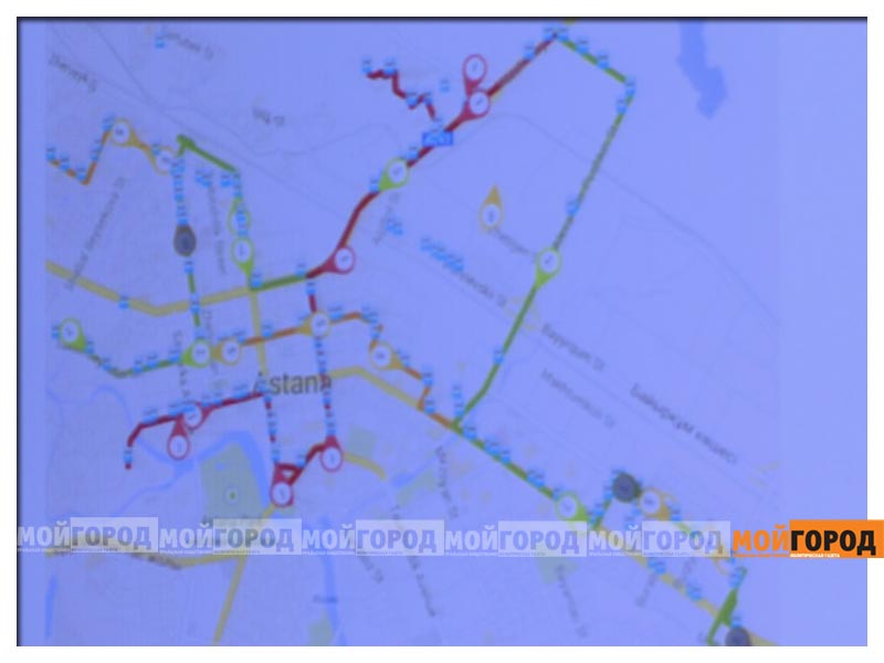 В Атырау будут контролировать движение общественного транспорта по интернету avtobusint3