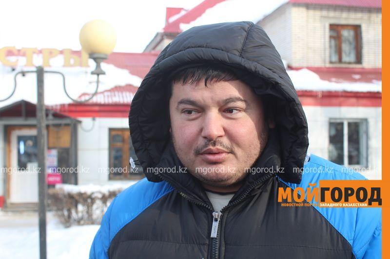 В Уральске в знак протеста мужчина разделся на морозе avtouragan1