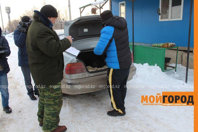 В Уральске в знак протеста мужчина разделся на морозе avtouragan10