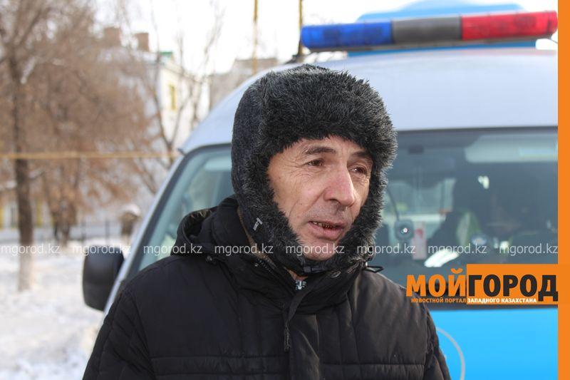 Новости Уральск - В Уральске в знак протеста мужчина разделся на морозе avtouragan2