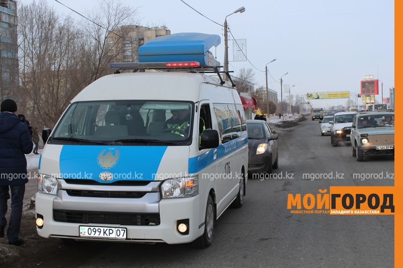 В Уральске в знак протеста мужчина разделся на морозе avtouragan4